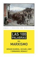 Las 100 palabras del marxismo -  AA.VV. - Akal