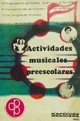 Actividades musicales preescolares -  AA.VV. - Otras editoriales