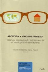 Adopción y vínculo familiar - Vinyet Mirabent - Herder