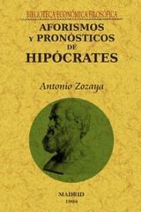 Aforismos y pronósticos de Hipócrates - Hipócrates de Cos - Maxtor