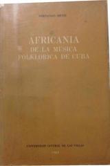 Africania de la música folklórica de Cuba -  AA.VV. - Otras editoriales