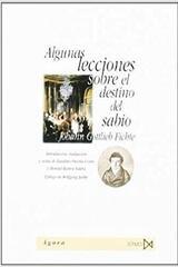 Algunas lecciones sobre el destino del sabio - Johann Gottlieb Fichte - Akal