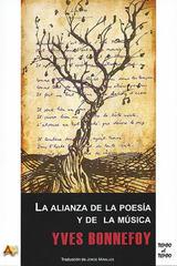 La alianza de la poesía y de la música - Yves Bonnefoy - Arena libros