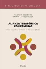 Alianza terapéutica con familias -  AA.VV. - Herder