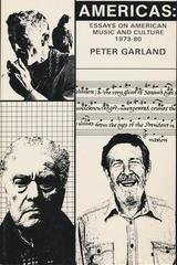 Americas - Peter Garland - Otras editoriales