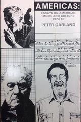 Americas - Peter Garland - Otras editoriales