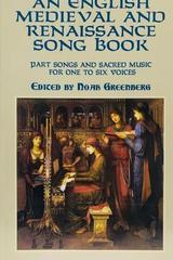 An English medieval and renaissance song book - Noah Greenberg (Ed.) -  AA.VV. - Otras editoriales
