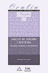 Análisis del discurso y repetición - María Matilde Camacho - Arco
