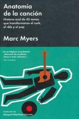 Anatomía de la canción - Marc Myers - Malpaso