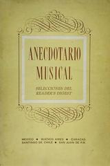 Anecdotario musical selecciones del reader's digest -  AA.VV. - Otras editoriales