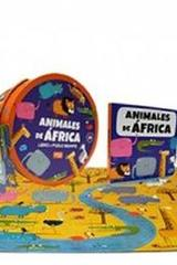 Animales de áfrica (rompecabezas) -  AA.VV. - Sassi