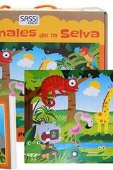 Animales de la selva (rompecabezas) -  AA.VV. - Sassi