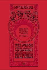 Antología del decadentismo -  AA.VV. - Caja Negra Editora