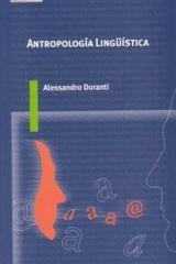 Antropología lingüística - Alessandro Duranti - Akal
