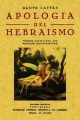 Apología del Hebraismo - Dante Lattes - Maxtor