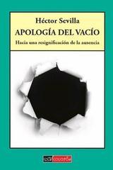 Apologia del vacio - Héctor Sevilla - Colofón Editorial