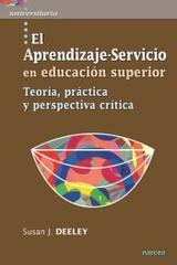 El aprendizaje servicio en educacion superior - Susan Deeley - Narcea ediciones