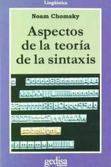 Aspectos de la teoría de la sintaxis - Noam Chomsky - Editorial Gedisa
