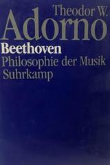 Beethoven - Theodor W. Adorno -  AA.VV. - Otras editoriales