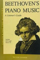 Beethoven's piano music - Victor Lederer -  AA.VV. - Otras editoriales