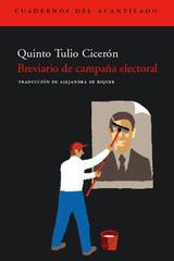 Breviario de campaña electoral - Quinto Tulio Cicerón - Acantilado