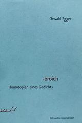 Broich - Oswald Egger -  AA.VV. - Otras editoriales