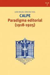 Calpe - Juan Miguel Sánchez Vigil - Trea