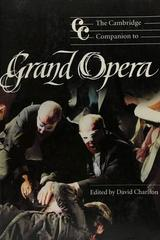 The Cambridge Companion To Grand Opera - David Charlton (Ed.) -  AA.VV. - Cambridge University Press