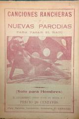 Canciones rancheras y nuevas parodias para pasar el rato -  AA.VV. - Otras editoriales
