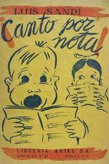 Canto por nota - Luis Sandi -  AA.VV. - Otras editoriales