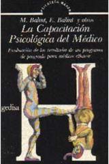 La capacitación psicológica del médico -  AA.VV. - Editorial Gedisa
