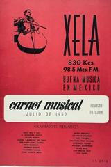 Carnet musical (julio) -  AA.VV. - Otras editoriales