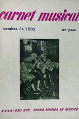 Carnet musical (octubre) -  AA.VV. - Otras editoriales