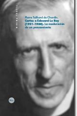 Cartas a Édouard Le Roy (1921-1946) - Pierre Teilhard de Chardin - Trotta
