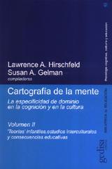 Cartografía de la mente. Vol. II - Lawrence A. Hirschfeld - Editorial Gedisa
