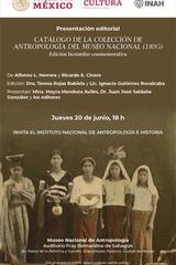Catálogo de la colección de antropología del Museo Nacional (1895) -  AA.VV. - Inah