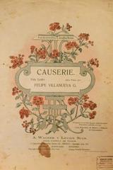 Causerie.  Vals lento para piano -  AA.VV. - Otras editoriales