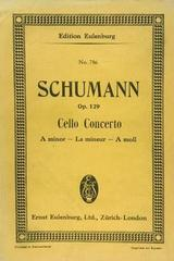 Cello concerto A minor, op. 129 - Schumann -  AA.VV. - Otras editoriales