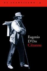 Cézanne - Eugenio d'Ors - Acantilado
