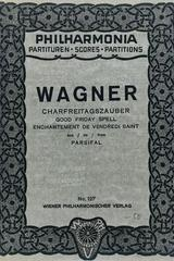Charfreitagszauber (de parsifal) - Richard Wagner -  AA.VV. - Otras editoriales