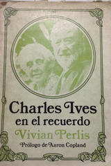 Charles Ives en el recuerdo -  AA.VV. - Otras editoriales