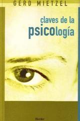 Claves de la psicología - Gerd Mietzel - Herder