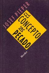 El Concepto de pecado - Josef Pieper - Herder