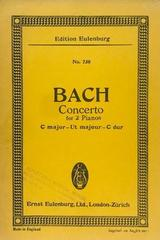 Concerto for 2 pianos C major - Bach -  AA.VV. - Otras editoriales