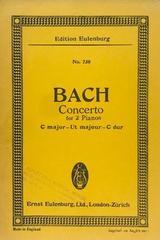 Concerto for 2 pianos C major - Bach -  AA.VV. - Otras editoriales