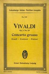 Concerto grosso H moll, op. 3 no. 10 -  Vivaldi -  AA.VV. - Otras editoriales