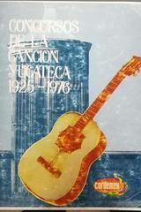 Concursos de la canción yucateca 1925 - 1976 - Renan Irigoyen -  AA.VV. - Otras editoriales
