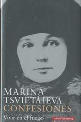Confesiones - Marina Tsvietáieva - Galaxia Gutenberg