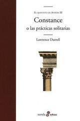 Constance o las prácticas solitarias - Lawrence Durrell - Edhasa
