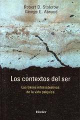 Los Contextos del ser - Robert Storolow - Herder